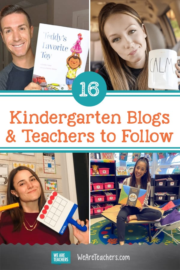 16 Awesome Kindergarten Blogs and Teachers to Follow