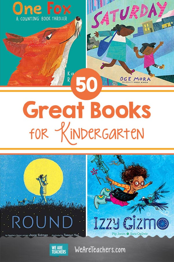 50 Great Books for Kindergarten