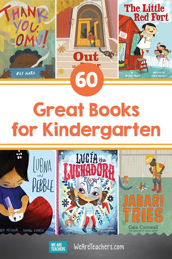 60 Great Books for Kindergarten
