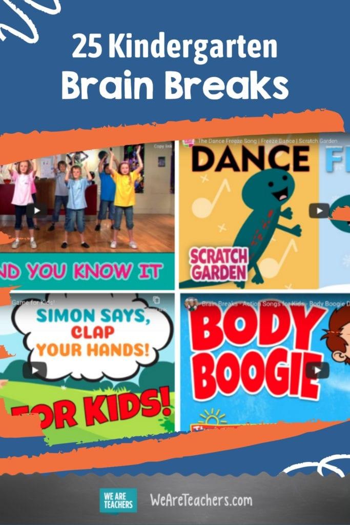 25 Kindergarten Brain Breaks to Get the Wiggles Out
