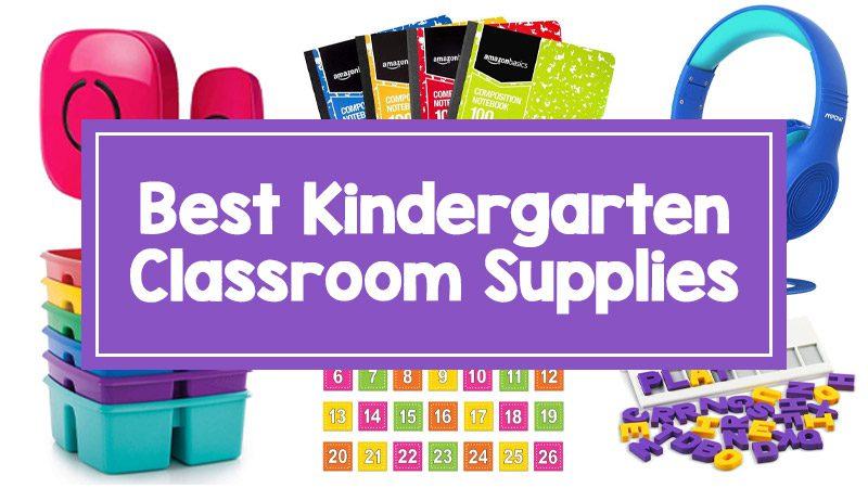 Kindergarten Classroom Supplies