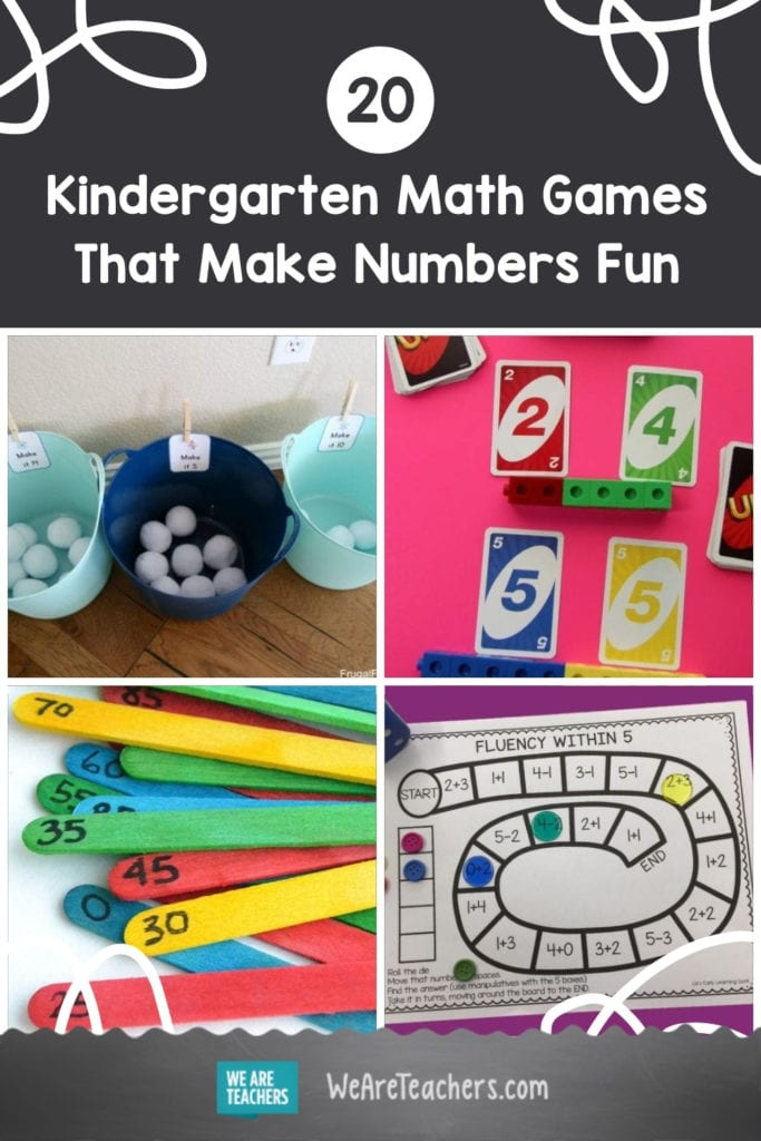 20 Kindergarten Math Games That Make Numbers Fun from Day One