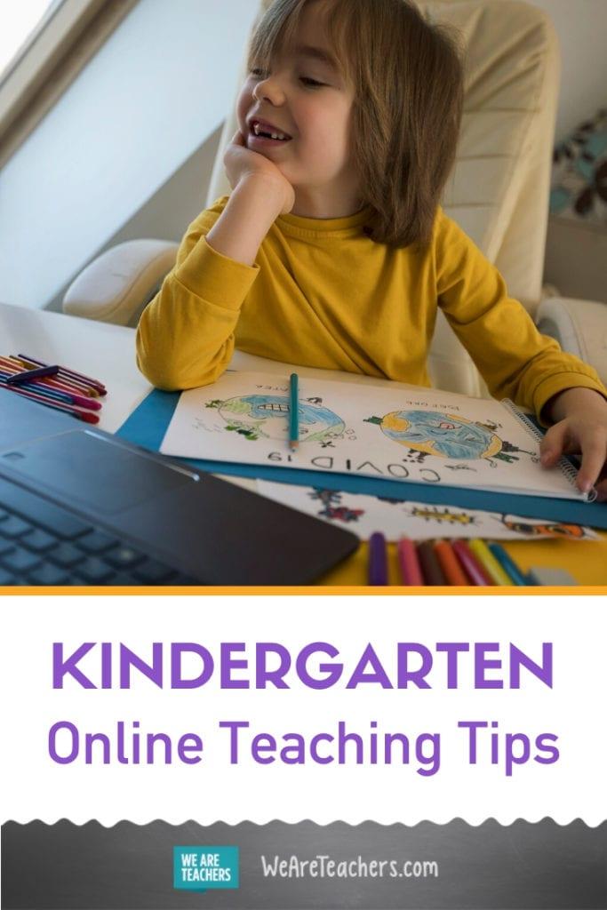 Your Guide to Teaching Kindergarten Online