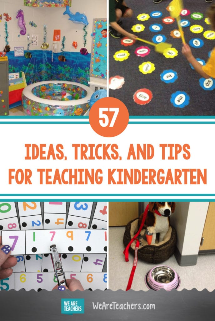 57 Ideas, Tricks, and Tips for Teaching Kindergarten