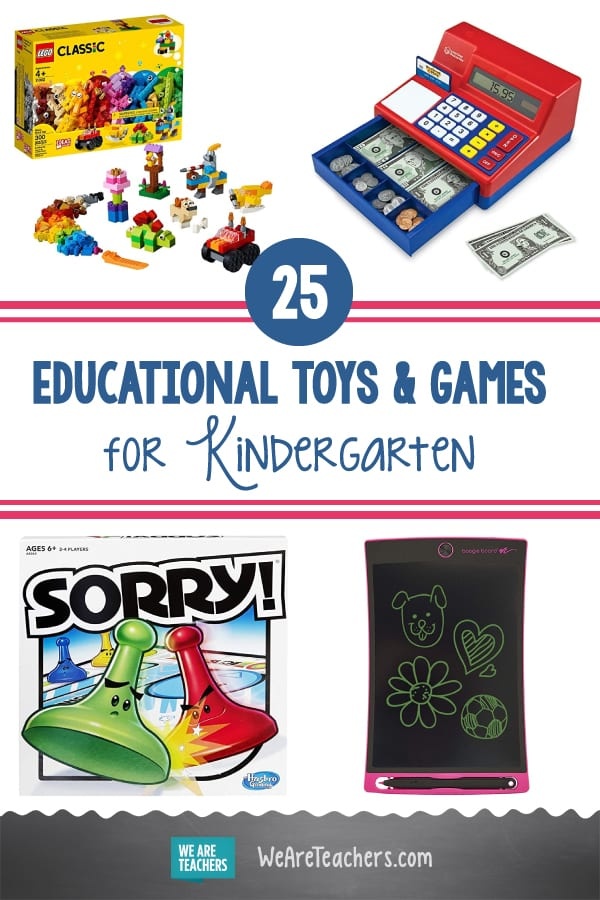 25 Best Educational Toys and Games for Kindergarten