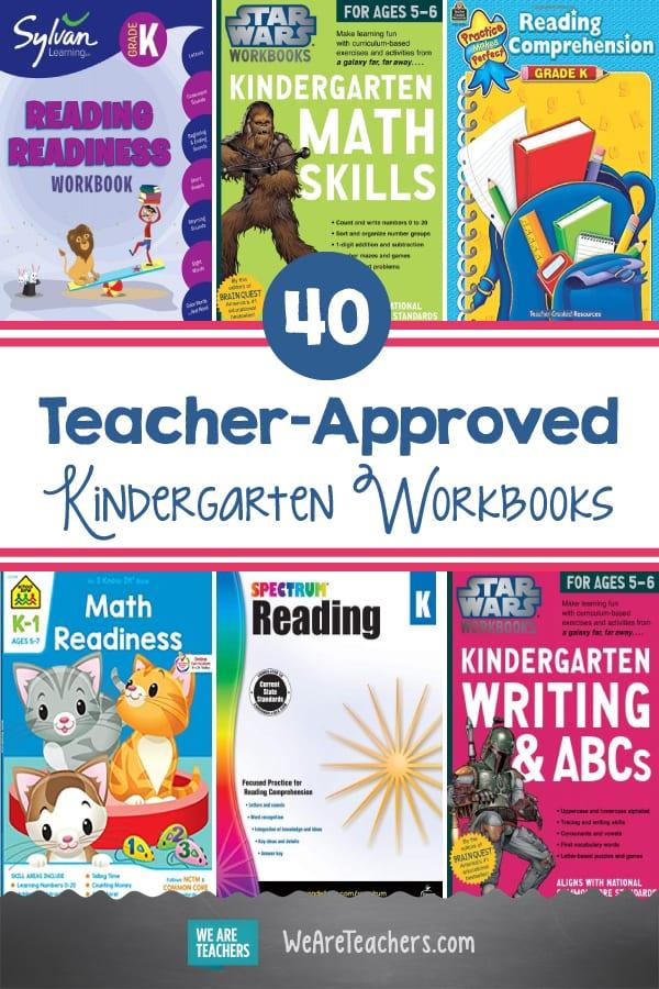40 Teacher-Approved Kindergarten Workbooks