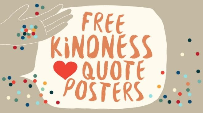 Free kindness posters