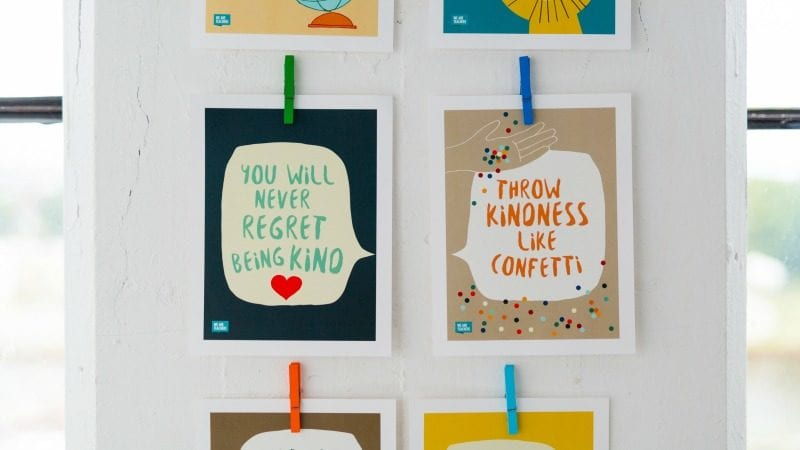 Kindness Posters - No Regrets
