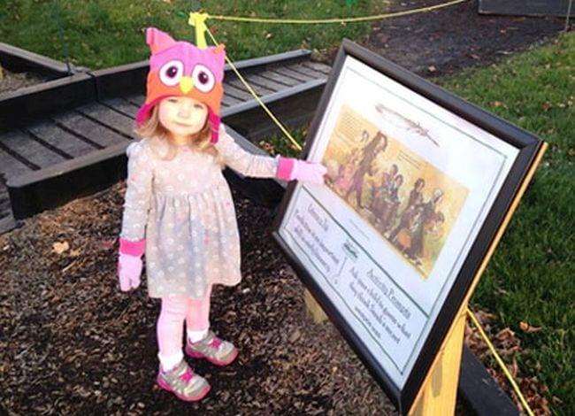 Kinesthetic Reading Activities Storywalk