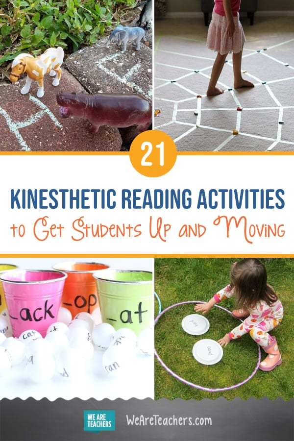 21 Kinesthetic Reading Activities to Get Students Up and Moving