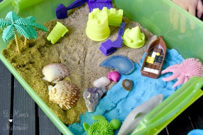 Kinetic Sand Activities A Moms Impression