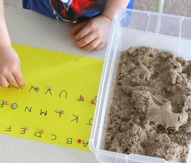 Kinetic Sand Activities Fun Learning for Kids 3