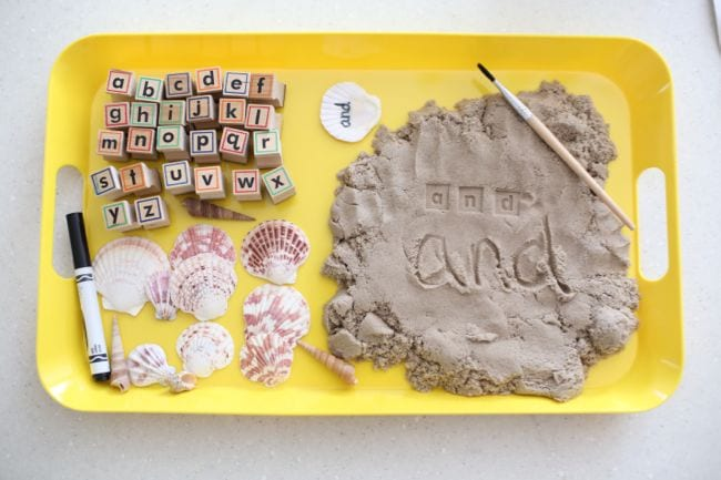 Kinetic Sand Activities I Can Teach My Child