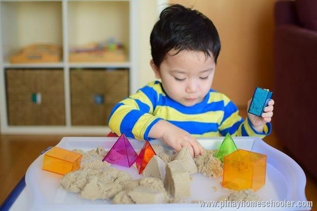 Kinetic Sand Activities Pinay Homeschooler