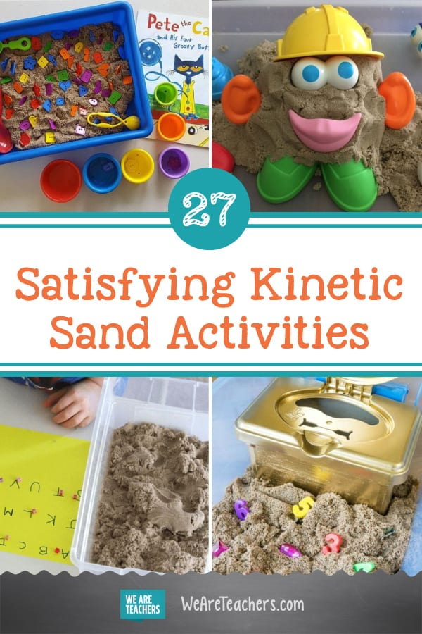 27 Satisfying Kinetic Sand Activities for Pre-K and Elementary School
