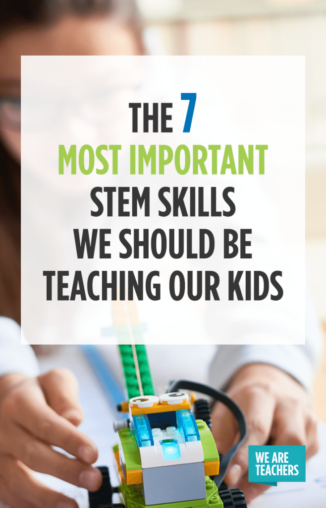 The 7 Most Important STEM Skills We Should Be Teaching Our Kids