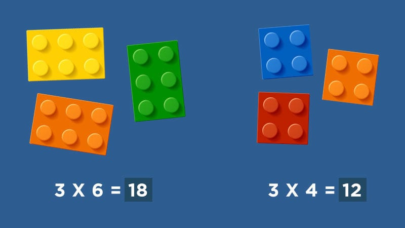 LEGO Arrays Multiplication