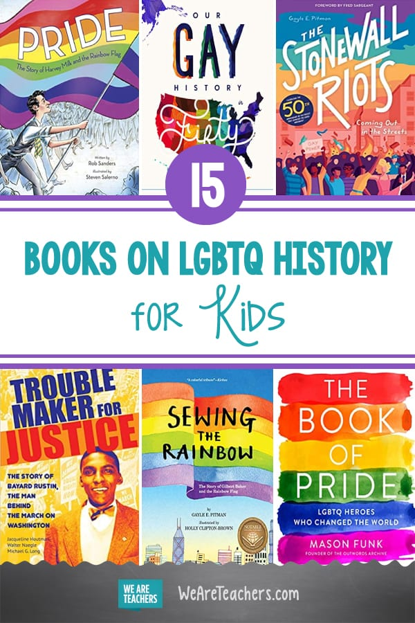 15 Books on LGBTQ History for Kids