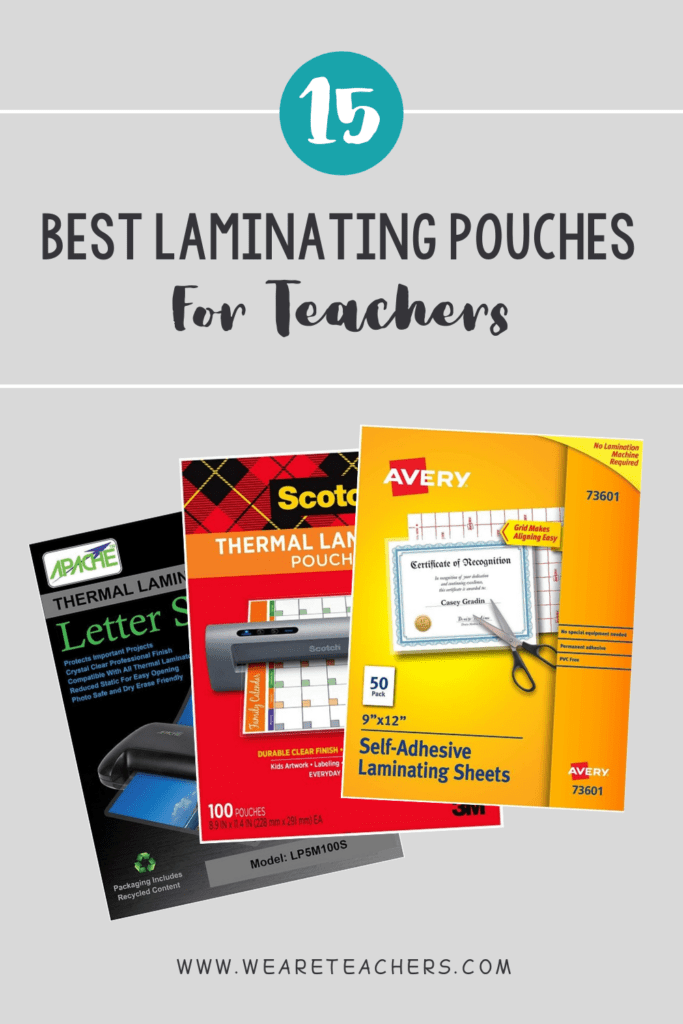 15 Best Laminating Pouches For Teachers (Thermal and Self-Sealing)
