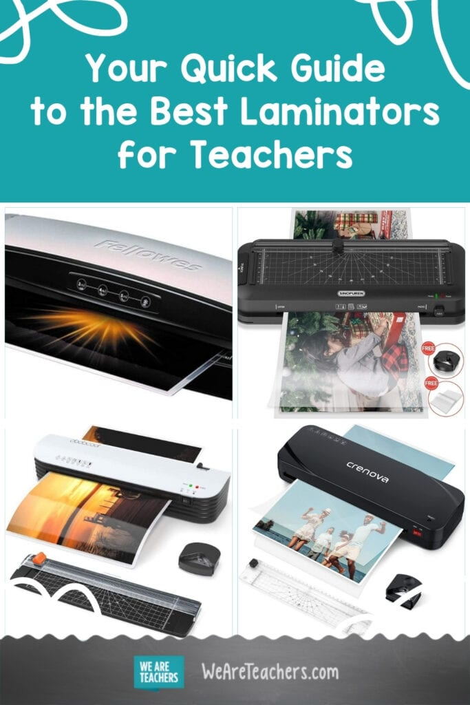 Your Quick Guide to the Best Laminators for Teachers