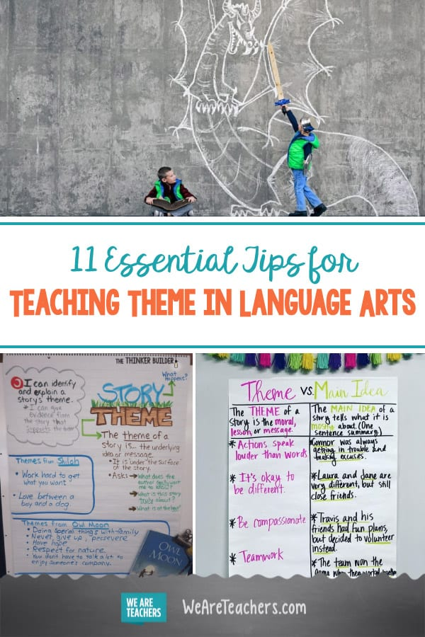 11 Essential Tips for Teaching Theme in Language Arts