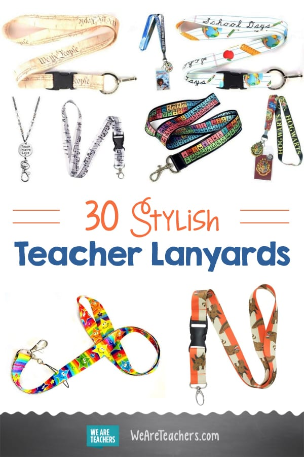 30 Teacher Lanyards to Help You Show off Your Style at School