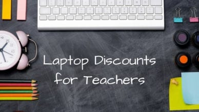 Laptop Discounts for Teachers