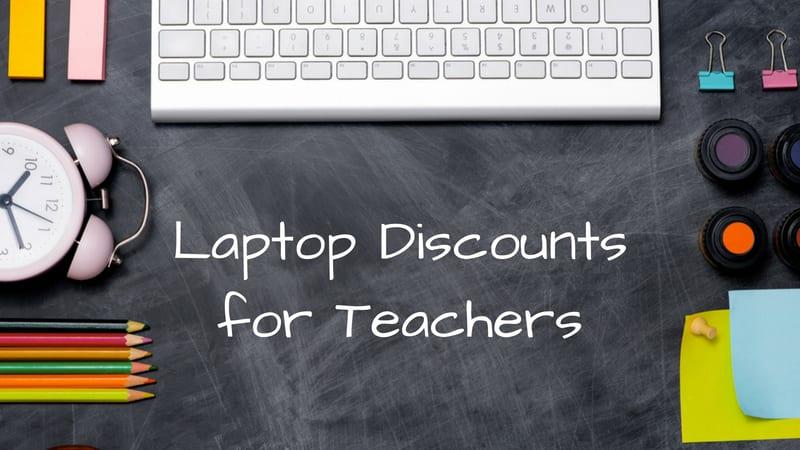 Laptop Discounts for Teachers
