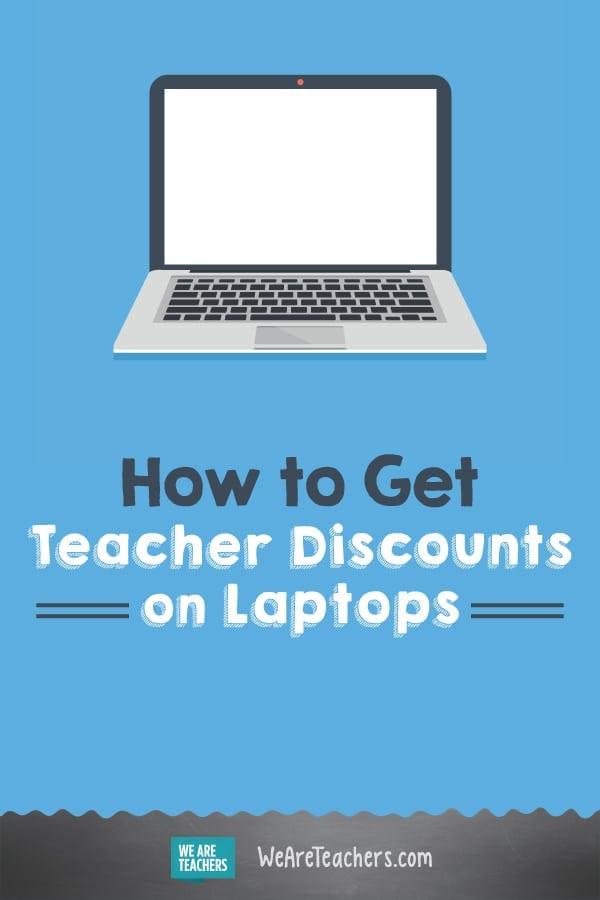 Laptop deals for teachers