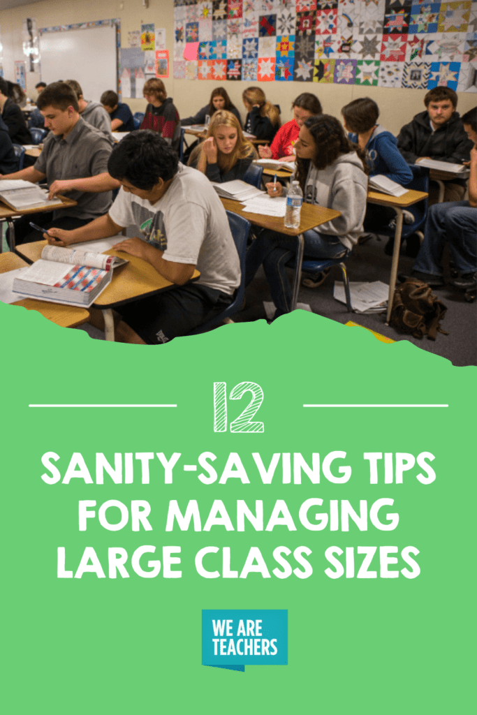 12 Sanity-Saving Tips for Managing Large Class Sizes