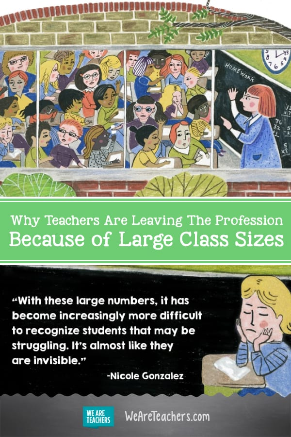 Teachers Are Leaving the Profession Because of Large Class Sizes, and It's Changing the Face of Education