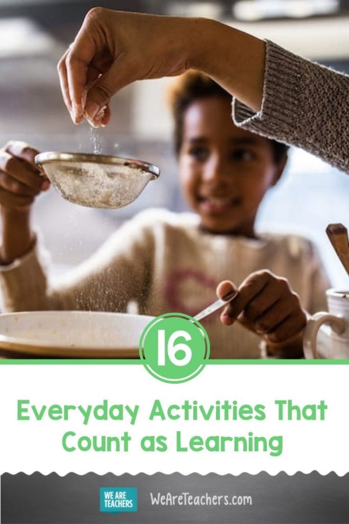 16 Everyday Activities That Count as Learning