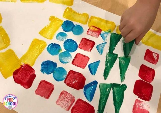 Learning Shapes Pocket of Preschool 2