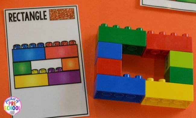Learning Shapes Pocket of Preschool