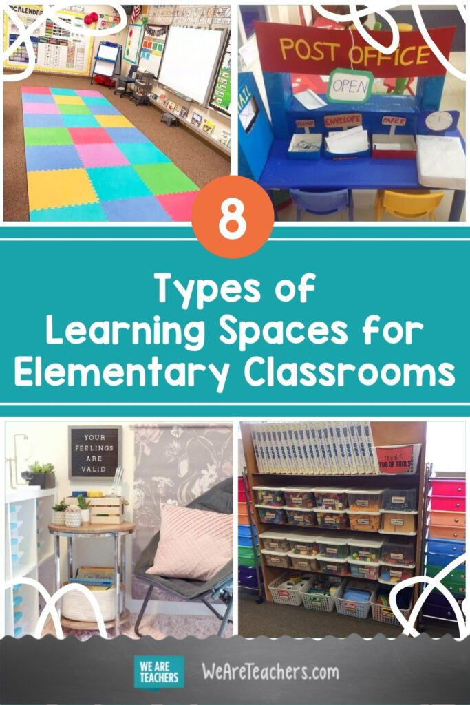 8 Types of Learning Spaces to Consider Including in Your Elementary Classroom