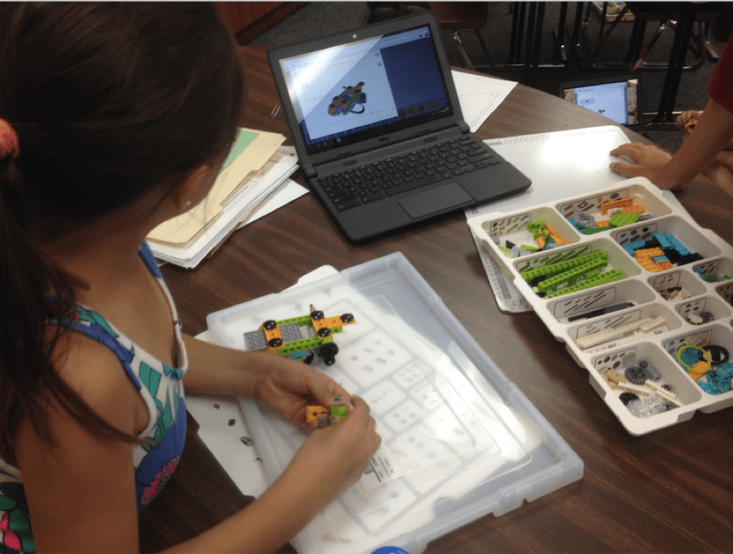 STEM Teachers Try Teaching with LEGO Education