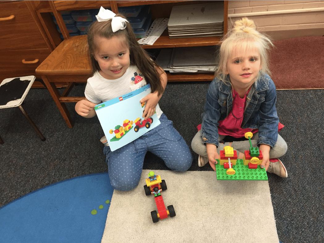 STEM Teachers Try Teaching with LEGO Education