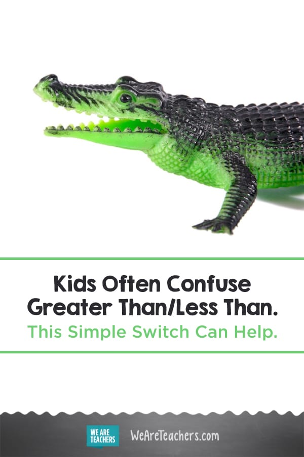 Kids Often Confuse Greater Than/Less Than. This Simple Switch Can Help.