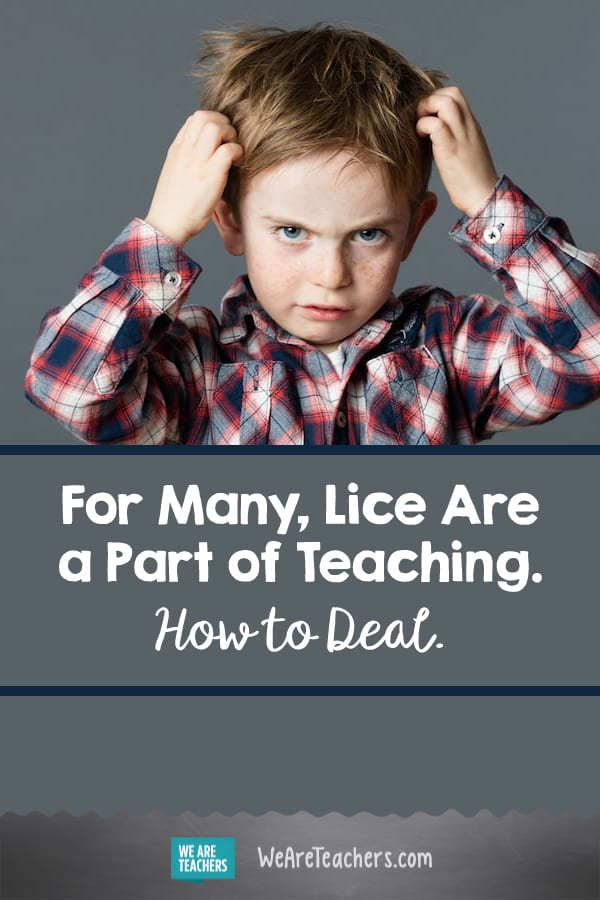 For Many, Lice Are a Part of Teaching. How to Deal