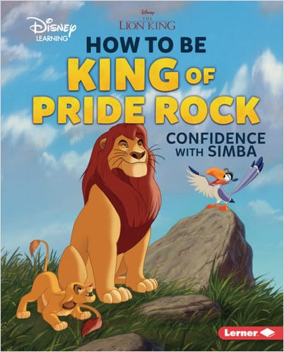 Character Education Book Cover - How to Be King of Pride Rock