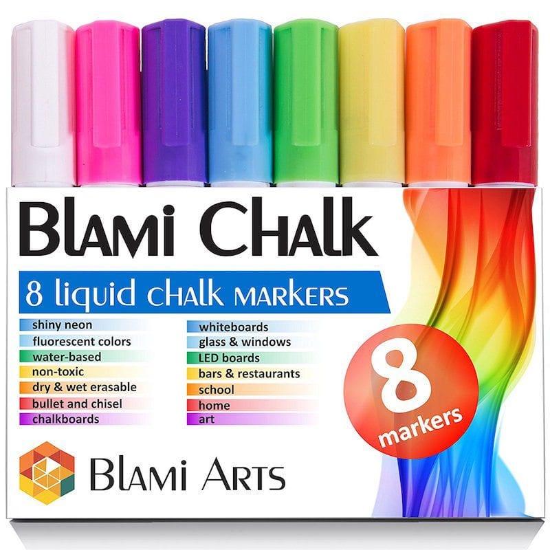 Liquid Chalk Markers - Art Supplies Under $10