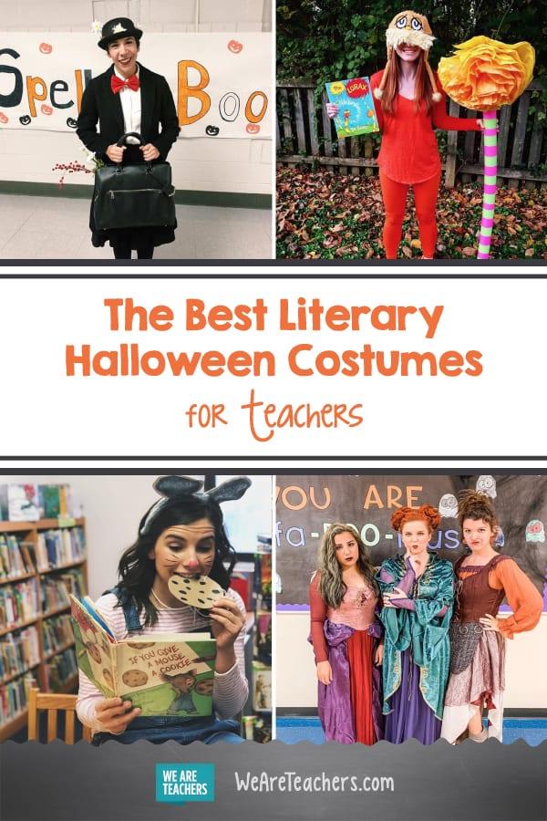 Öğretmenler için En İyi Edebi Cadılar Bayramı Kostümleri