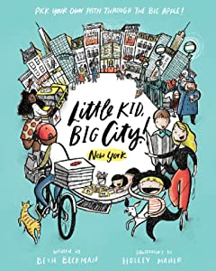 book cover Little Kid, Big City children's book