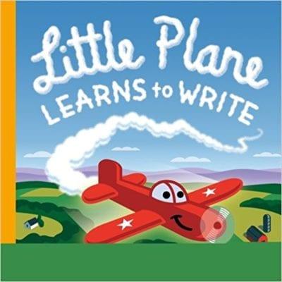 Little Plane Learns to Write 400x400 - Best Kindergarten Books