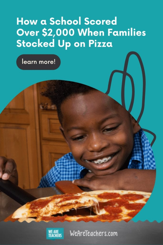How a School Scored Over $2,000 When Families Stocked Up on Pizza