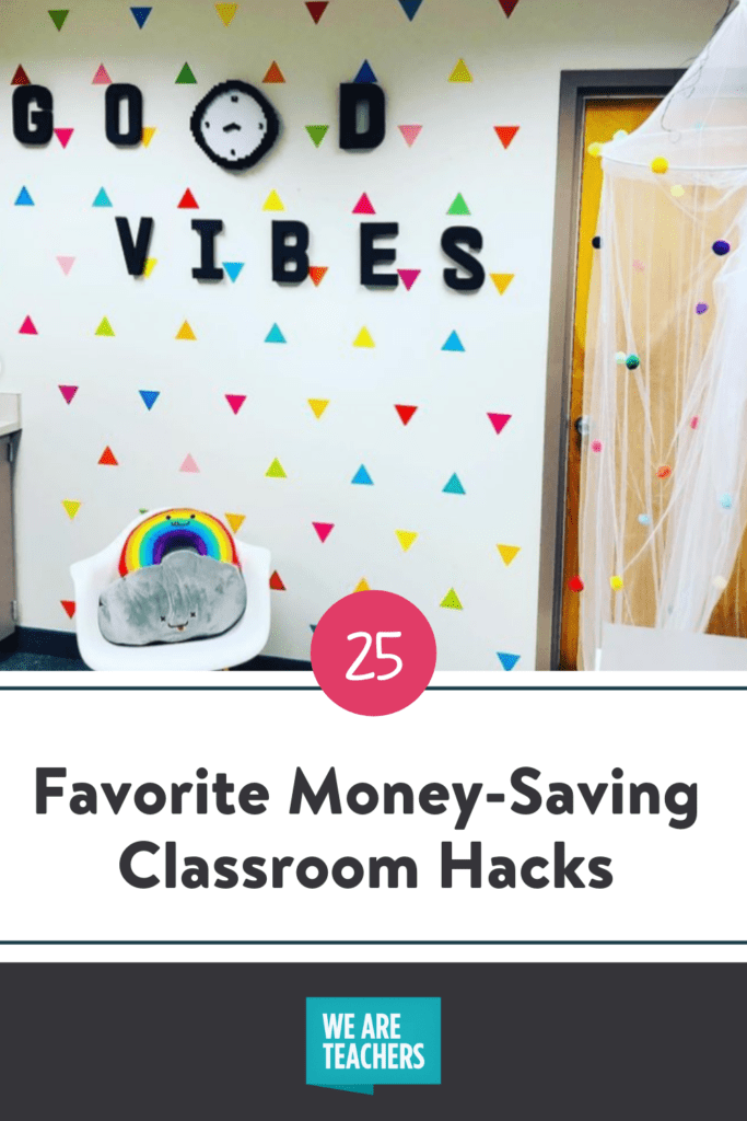 Check Out Our Favorite Money-Saving Classroom Hacks