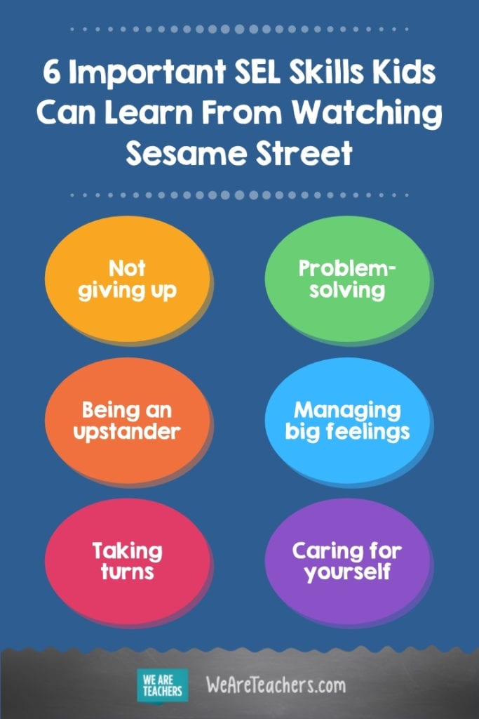 Important SEL Skills Kids Can Learn From Watching Sesame Street