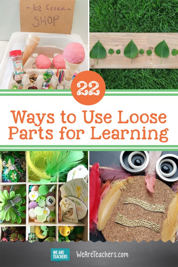 22 Ways to Use Loose Parts for Learning