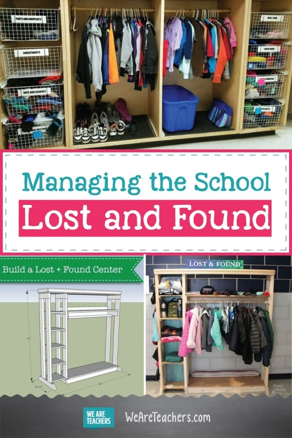 Best of WeAreTeachers HELPLINE: Managing a School Lost & Found