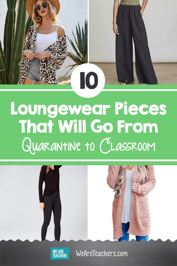 10 Loungewear Pieces That Will Go From Quarantine to Classroom